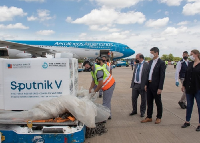 Las vacunas Sputnik V se fabricarán en Argentina