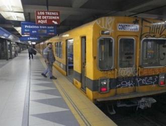 Línea C cerrada por obras