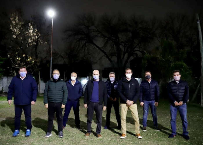 ¿Mensaje para Macri?: Larreta y Santilli se reunieron con intendentes de la Provincia