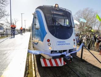 El tren Belgrano Sur llegó llegó a Marcos Paz después de 28 años