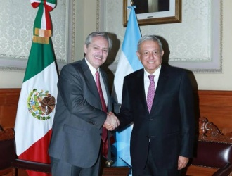 Alberto llegó a México