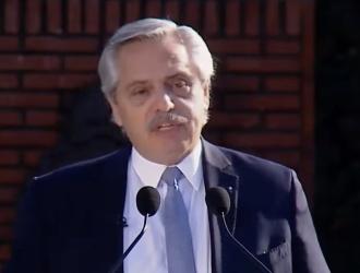 """Alberto Fernández: """"Voy a hacer todo lo que esté a mi alcance para terminar con las diferencias"""""""