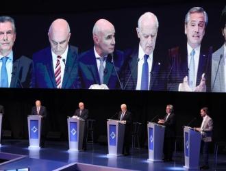Debate presidencial: los cruces entre los candidatos