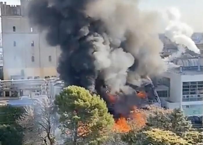 Se incendió la planta de Cervecería Quilmes: las autoridades informaron que se desconoce el origen