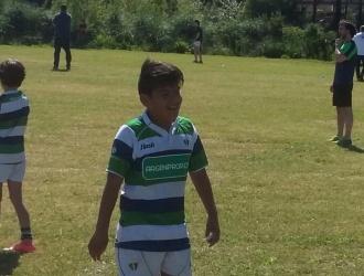 """Aarón, """"el rugby me hace feliz"""""""