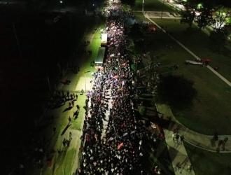 Más de medio millón de mujeres y disidencias sexuales marcharon en La Plata