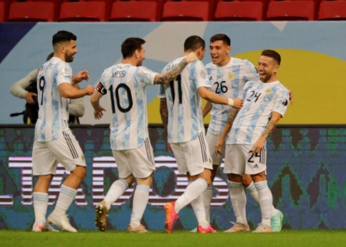 Argentina ganó y clasificó a Cuartos