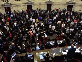 Los 130 diputados electos juraron en la sesión preparatoria