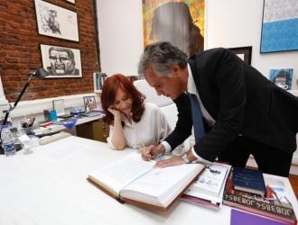 Cristina Kirchner presidenta interina